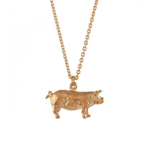 Suffolk Pig necklace