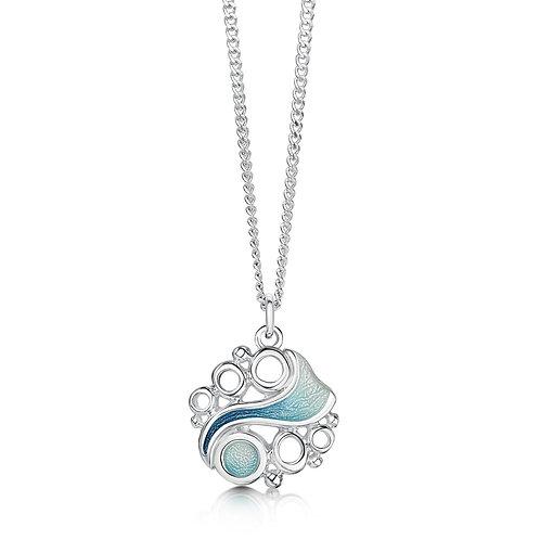 Arctic Stream silver small pendant