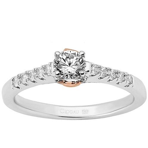 Timeless Love Clogau ring 30 point Diamond