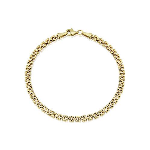 Gold Panther Link bracelet