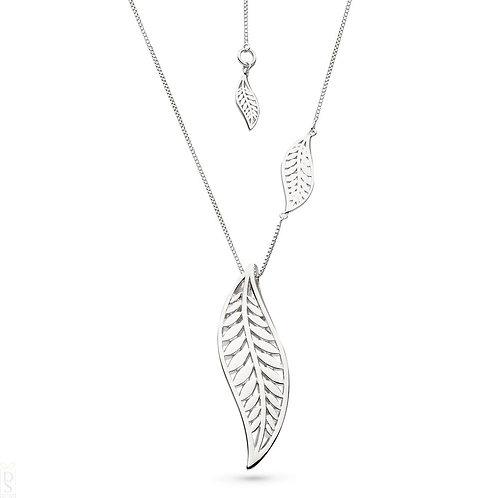Blossom Eden Grande Leaf 30''necklace