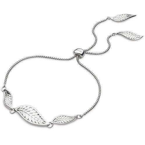 Blossom eden trio leaf toggle bracelet