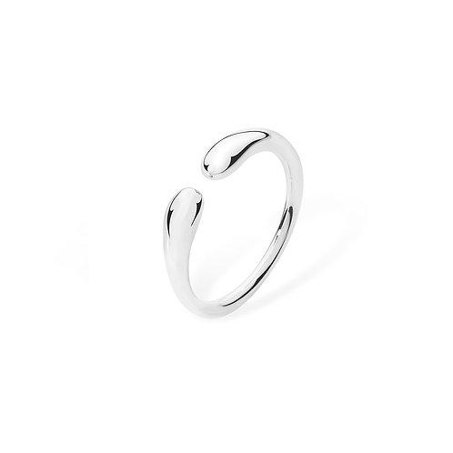 Open double drop ring