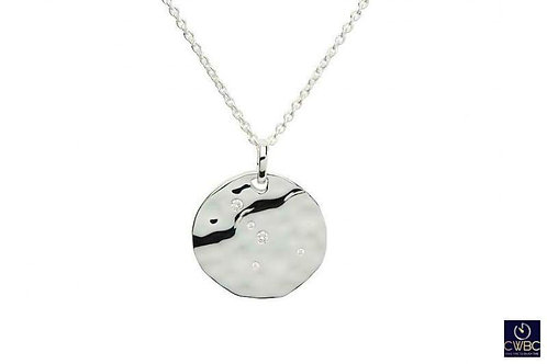 Leo Constellation silver pendant
