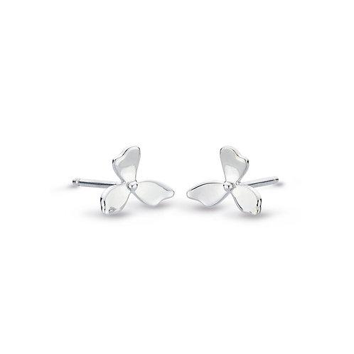 Blossom Petal Bloom Small Stud Earrings