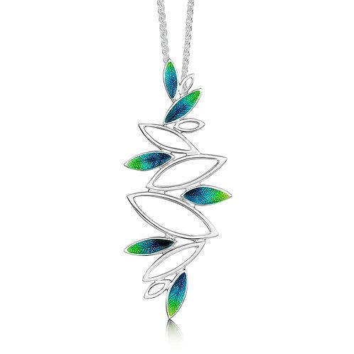 Seasons Spring silver dress pendant