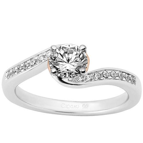 True Romance Clogau ring 70 point Diamond