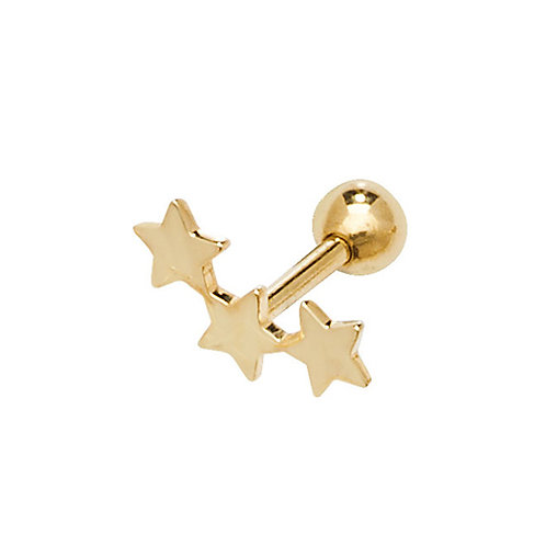 Gold Constellation Cartilage stud earring