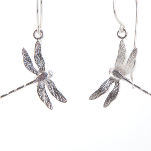 Enchanted Dragonfly hook earrings