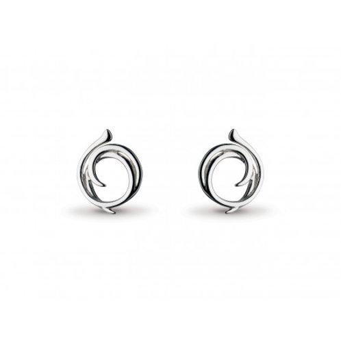 Twine Helix Wrap stud earrings