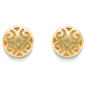 Patterned Lace stud earrings