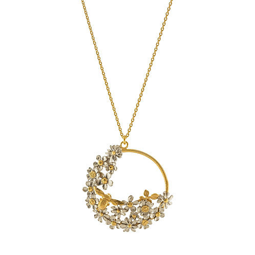 Posy Bee Loop Necklace