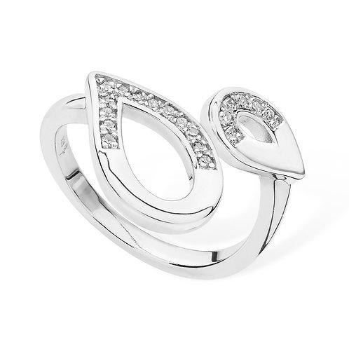 Melting Diamond ring