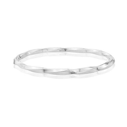 Charlotte silver bangle - 2.5mm