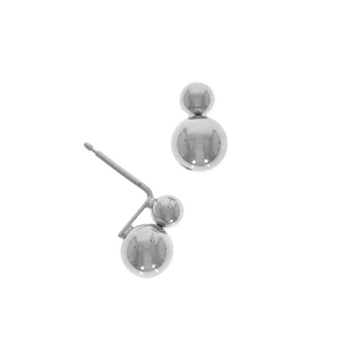Double polished ball studs