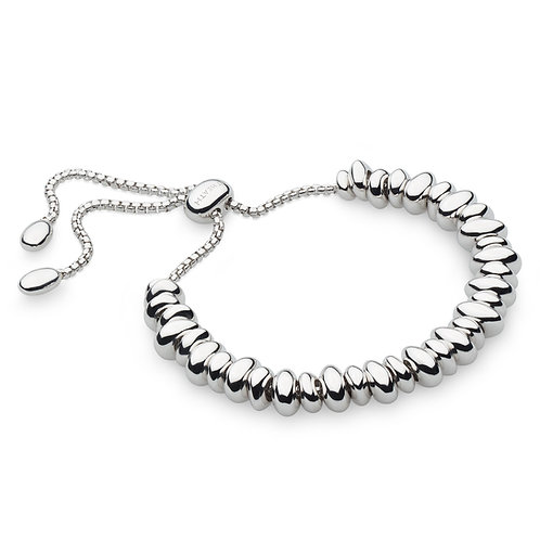 Coast Tumble Grande Full Row Silver Bracelet