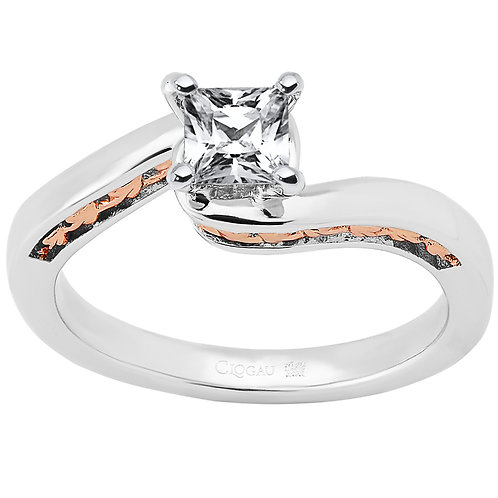 Forever Fairytale Clogau ring 30 point Princess cut Diamond