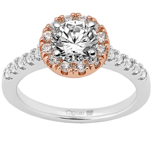 Love Divine Clogau ring 70 point Diamond