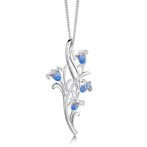 Sheila Fleet four bluebell necklace
