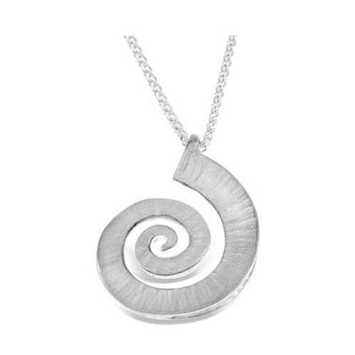 Dreki large Spiral Wave pendant