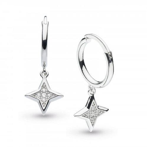 Empire Astoria Stardust Hoop Drop Earrings