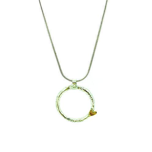 Silver Ring Heart pendant
