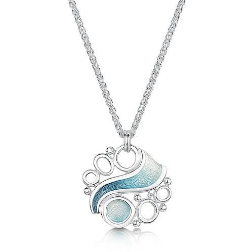 Arctic Stream silver pendant