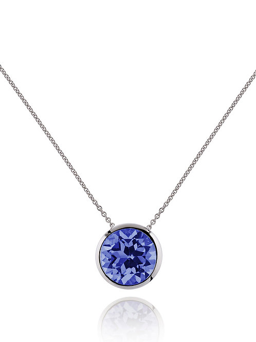 Juliet iolite and silver pendant