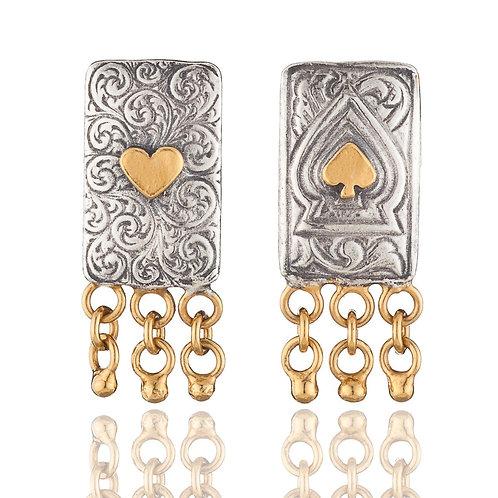 Knave stud earrings