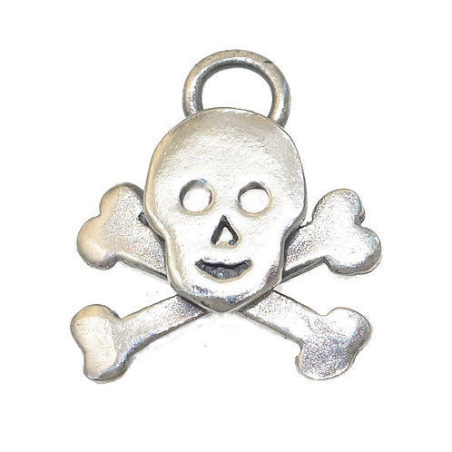 Skull and Crossbones charm