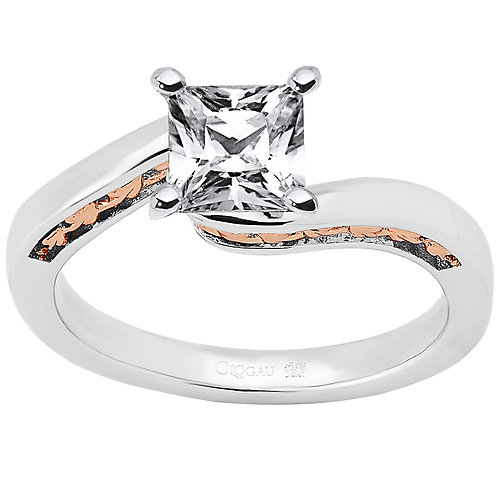 Forever Fairytale Clogau ring 1ct Princess cut Diamond