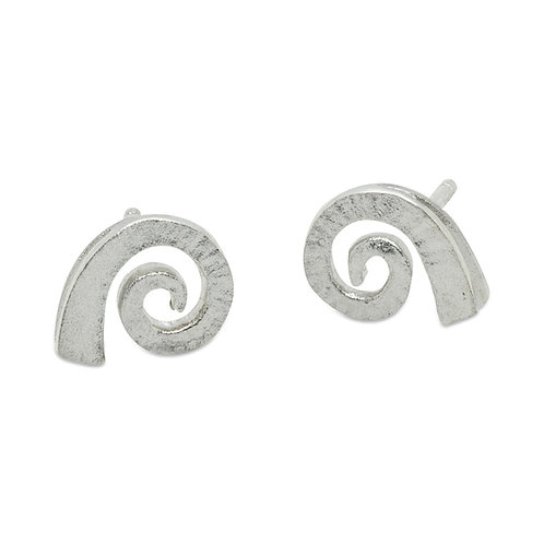 Dreki medium spiral sea wave studs