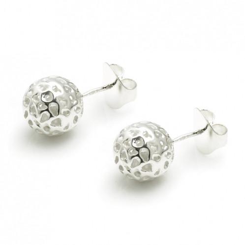 Globe Stud Earrings