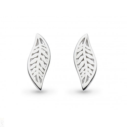 Blossom Eden small leaf stud earrings
