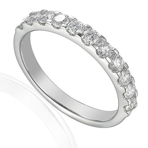Diamond 14 stone set Platinum ring