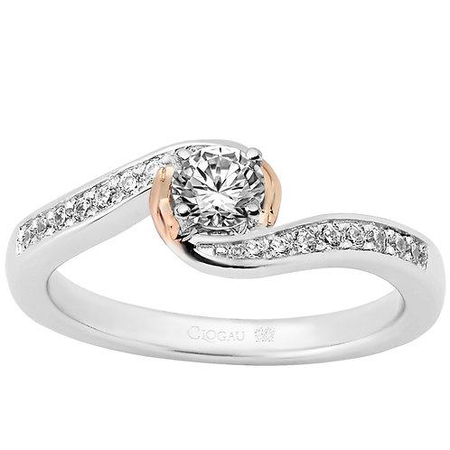 True Romance Clogau ring 30 point Diamond