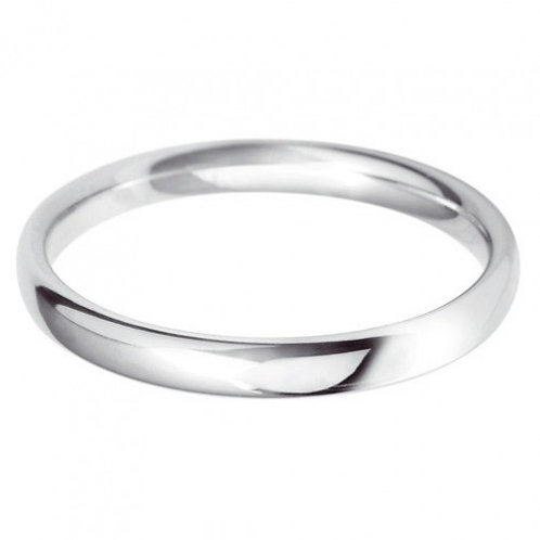 Classic 2.5mm court wedding band