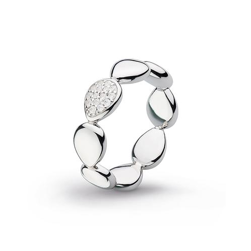 Coast Pebble Glisten CZ Ring