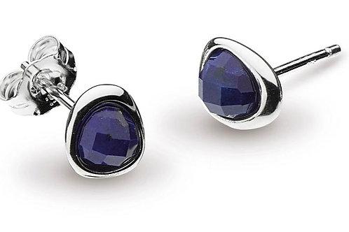 Coast pebble lapis lazuli ministud earrings