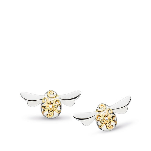 Blossom Flyte Honey Bee stud earrings