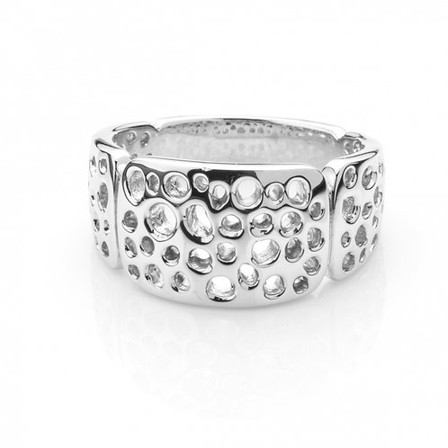 Forte silver ring