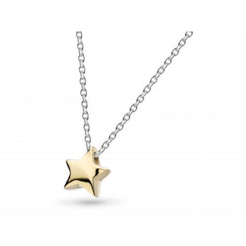 Miniature Shining Star gold plated pendant