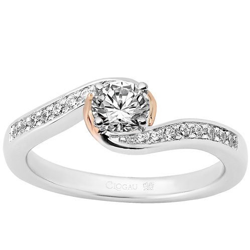 True Romance Clogau ring 50 point Diamond