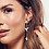 Thumbnail: Blossom Petal Bloom Interchangeable Drop Earrings