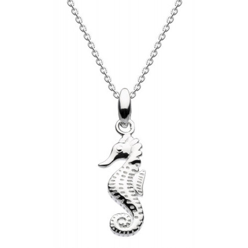 Sea Horse Silver pendant on chain