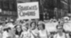 Stonewall Chorale at Pride March in 1978