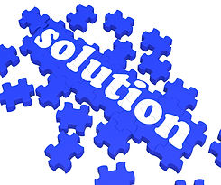 """Robin S. Weingast & Associates, Inc. Puzzle spelling """"solution"""""""
