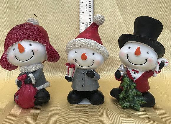 Snowmen Figures - Single