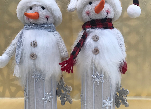Light Up Snowman - Single