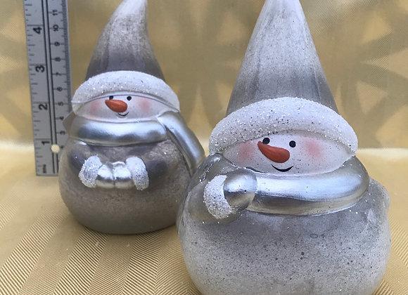 Small Snowman Ornament - Single
